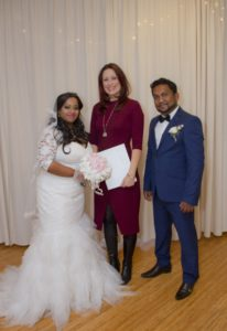 Amilia and Nalinda - a romantic and intimate ceremony