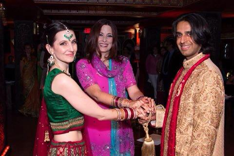 Angela & Johar - Multi-tradition ceremony with hand-fasting