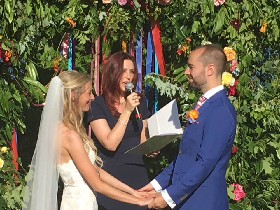 Tanya and Scott wedding at Miller Lash House in Toronto Lori Lytle wedding officiant